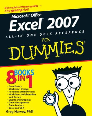 Excel 2007 All-in-one Desk Reference for Dummies By Harvey, Greg
